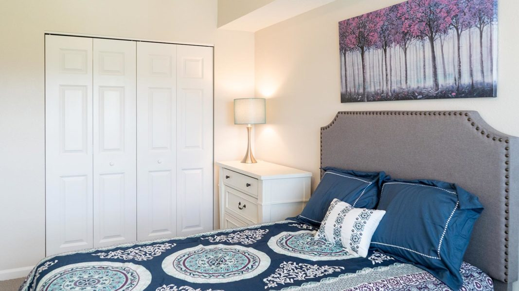 Assisted Living Bedroom With Attached Bath
